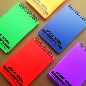flip top pocket size note pad