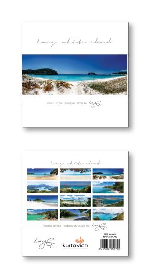 Tent desktop calendar -views of New Zealand