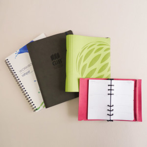Kurtovich make in NZ customised notebooks