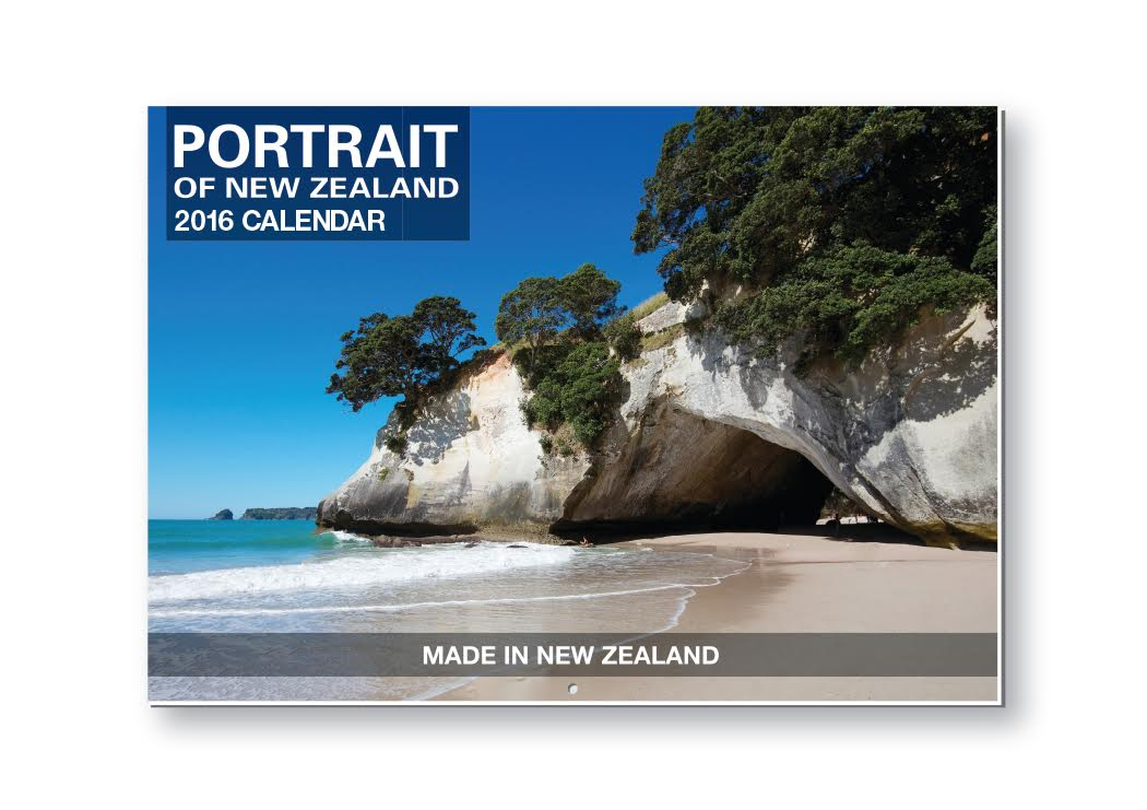 wall calendar printed in NZ